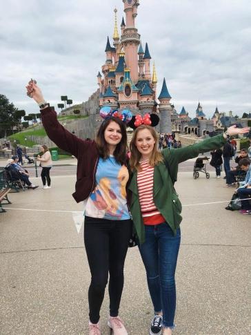 Der Abschied vom Disneyland fiel uns schwer